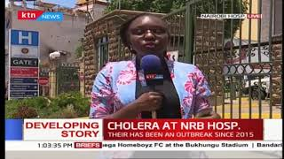 Unconfirmed cases of cholera reported at Nairobi hospital