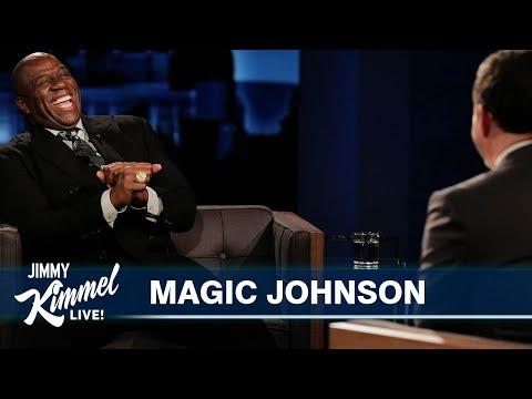 Magic Johnson on Michael Jordan's Famous Shrug, Tom Brady's Success & the Great Tommy Lasorda