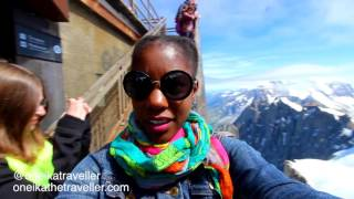 French Alps: Visiting Chamonix, France, Mont Blanc & The Mer De Glace Glacier!