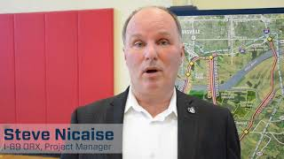 Steve Nicaise, I-69 ORX Project Manager - May 2017