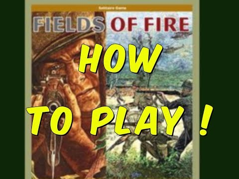 Fields of Fire - how to play