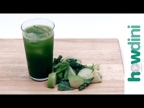 How to Make Green Juice Recipe: Howdini Hacks