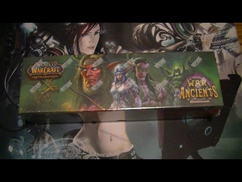 Unboxing World Of Warcraft TCG – War Of The Ancients Epic Collection (First Crack At Loot)