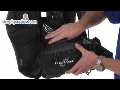 Aqua Lung Dimension i3 BCD – www.simplyscuba.com