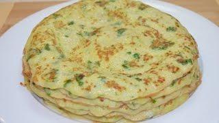 Вкусные блины из кабачков с зеленью рецепт видео