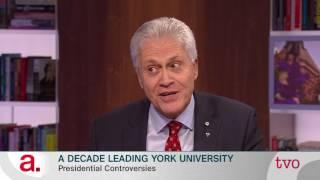 A Decade Leading York University