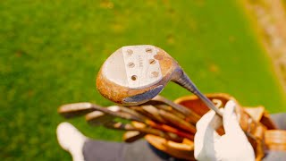 PGA Pro with 100-Year-Old Clubs VS Amateur!
