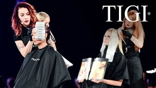 LOOK AND LEARN EDUCATION SESSION // TIGI WORLD RELEASE //
