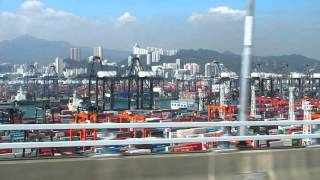 2016-03-03 The bus from Hong Kong Airport