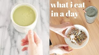 What I Eat In A Day | Healthy & Plant-Based