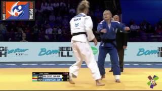 European Judo Championships Warsaw 2017 Semifinal -48kg BILODID (UKR) vs. CSERNOVICZKI (HUN)