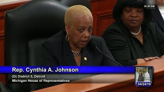 Rep. Cynthia A. Johnson on Abortion Method Ban