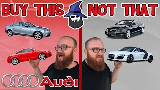 The CAR WIZARD shares the top AUDI cars TO Buy & NOT to Buy
