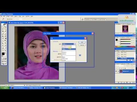 Video Cara Cepat Edit background Foto untuk KTP