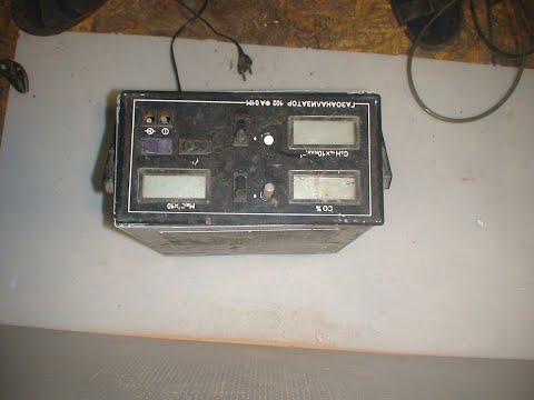 газоанализатор 102фа01м разбор