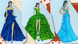 Fashion Illustration Compilation (Speed Painting)