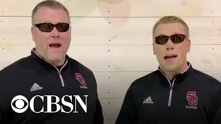 School officials sing rendition of