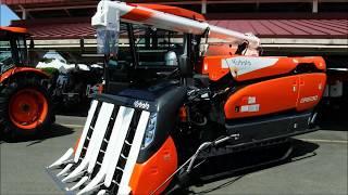 第73回岩手県農業機械実演展示会KubotaNW8S/M1010W/DR6130