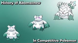 Abomasnow  - (Pokémon) - How GOOD was Abomasnow ACTUALLY? - History of Abomasnow in Competitive Pokemon (Gens 4-7)