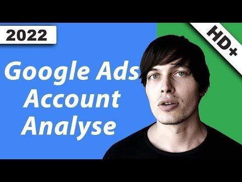 Google Ads Account Analyse