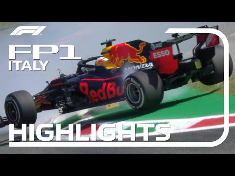 マックス・フェルスタッペンがスリップしてクラッシュ。F1 2020 第8戦イタリアGP(モンツァ)フリープラクティス1ハイライト動画