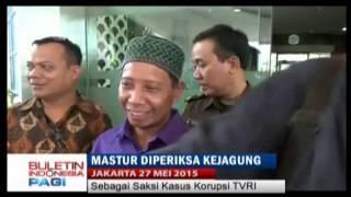 Mastur Adik Mandra Diperiksa Kejagung Sebagai Saksi Kasus Korupsi TVRI  BIP 28/05
