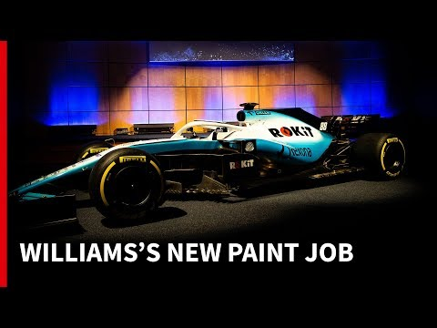 The story behind Williams's new F1 livery