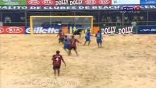 Flamengo 6 x 2 Boca Juniors Mundialito Futebol de Areia Beach Soccer