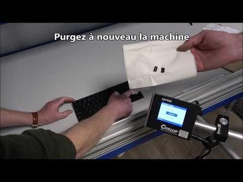 CM 100: Dysfonctionnement – le système n'imprime pas correctement