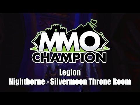 Patch 7.3.5 – Nightborne: Silvermoon Throne Room
