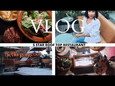 VLOG LADIES NIGHT OUT, COME TO DINNER WITH US  CAPE TOWN'S 5 STAR RESTAURANT  SOUTH AFRICAN YOUTUBER