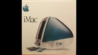 IMac G3 Unboxing And Setup