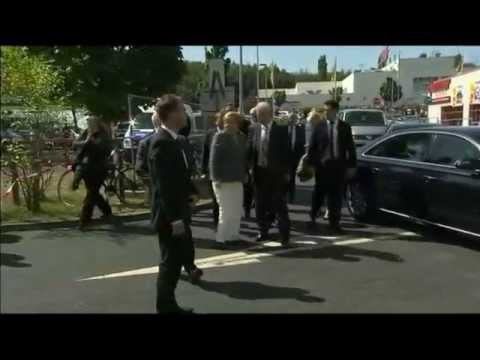 Heidenau (Allemagne) : Angela Merkel huée lors de sa visite (MàJ)