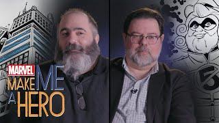 Tom Brevoort & Dan Slott   Marvel Make Me a Hero