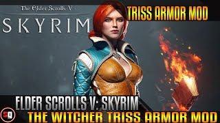 Skyrim Mod - The Witcher Triss Armor