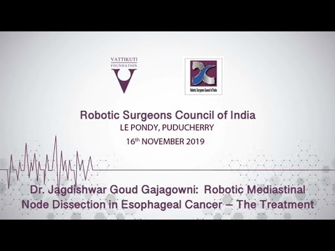 Robotic Mediastinal Node Dissection in Esophageal Cancer