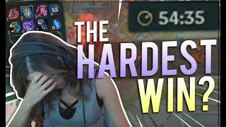 THE HARDEST WIN OF MY LIFE | Pokimane