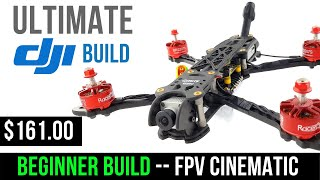 Beginner Guide // How To Build Budget DJI Cinematic FPV Drone 2020
