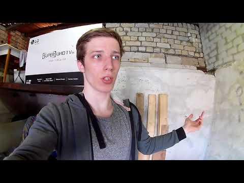 Бюджетный ремонт гаража#1
