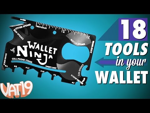 18-in-1 multi-tool the size of a credit card!