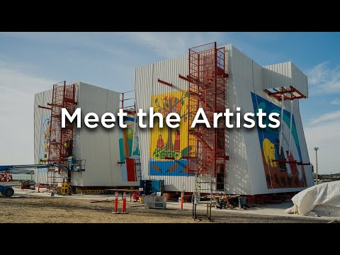 Meet the Artists | Gordie Howe International Bridge Project Construction Site Art