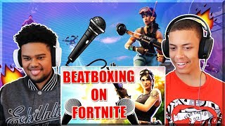 Codfish -When A Beatboxer Plays Fortnite || REACTION ||
