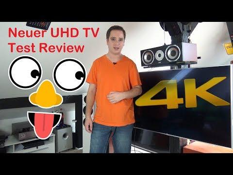 LG UHD 4K Fernsehr TV 49SJ8109 Vorstellung Review Test