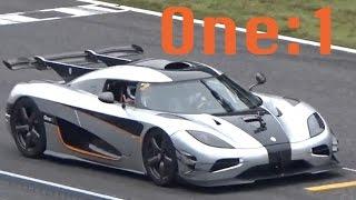 【日本初公開!!】1300馬力のケーニグセグOne:1が鈴鹿を爆走!!/Koenigsegg One:1 InJapan!!