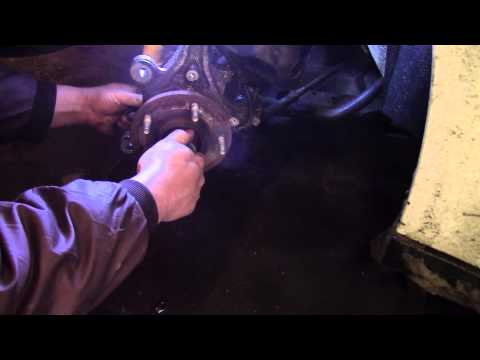 2010 Dodge Grand caravan wheel hub replacement