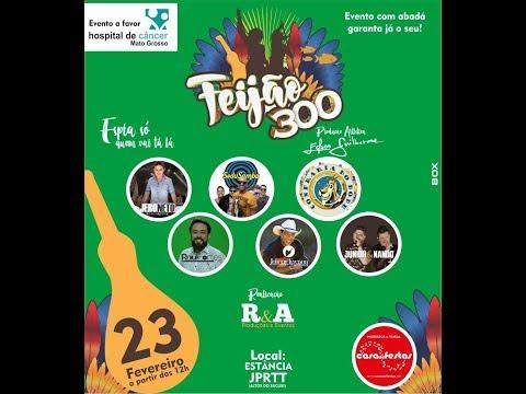 Evento Feijão 300 terá 12 horas de bandas e atrações