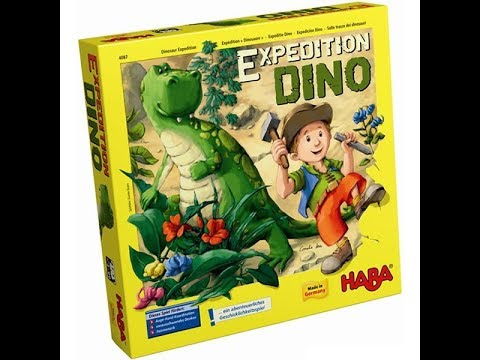 The Purge: # 1405 Expedition Dino: A dexterity games for children where you look for dinosaur bones but find a dinosaur!