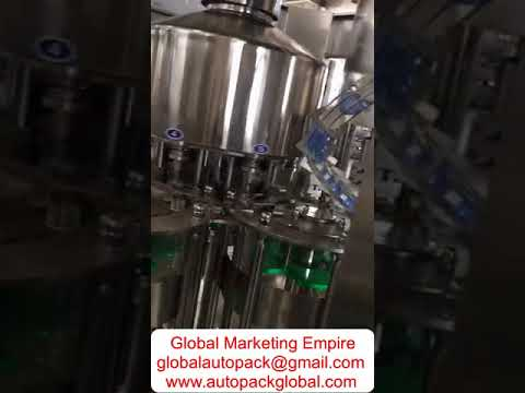 Automatic Bottling Plant (3 In 1) / Automatic Bottling Machine For Juice