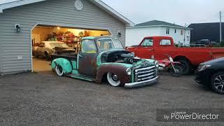 Bagged 1952 GMC Rat Rod Pickup Truck Build
