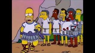 La Odisea De Homero (Parte 1/2) Los Simpson